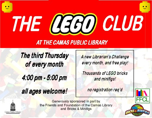 The LEGO Club at Camas Public Library | Vancouver Family Magazine