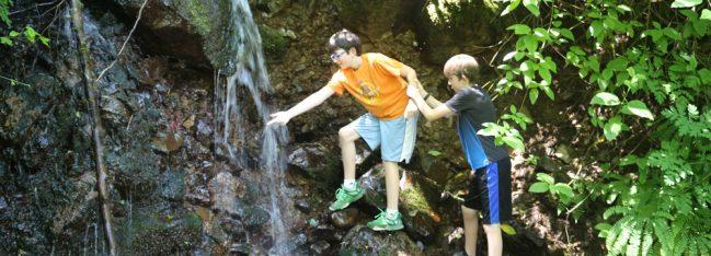 waterfall shenanigans