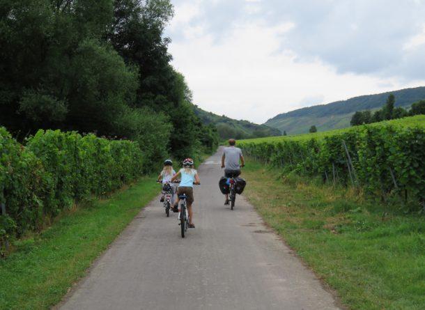 Biking on Moselle