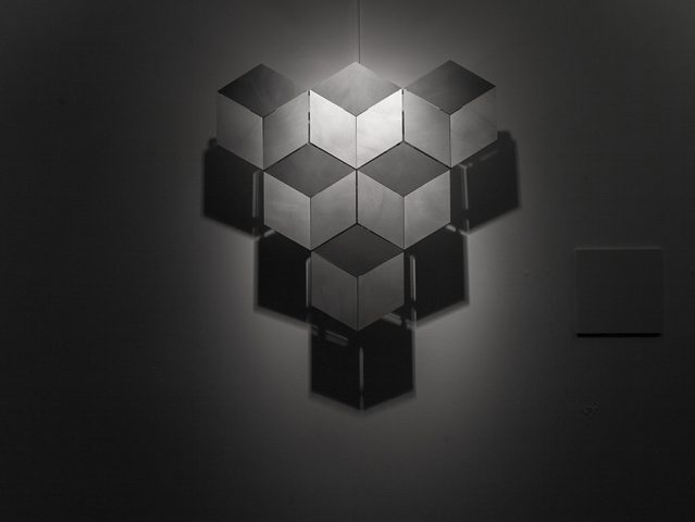 Cubes by Jennifer Townley, as part of Illusion at Science Gallery Dublin. Image by Science Gallery (sciencegallery.com)