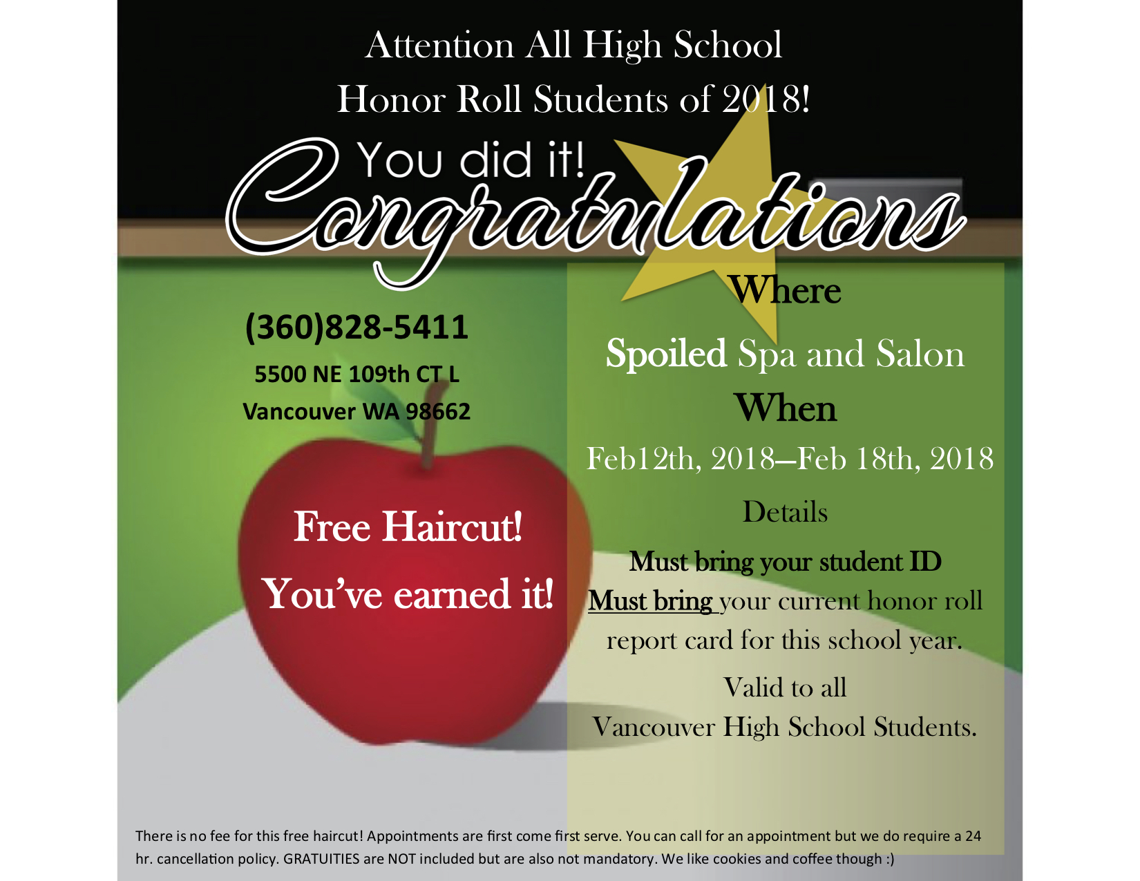 Free Hair Cuts For Honors Students Vancouver Family Magazine
